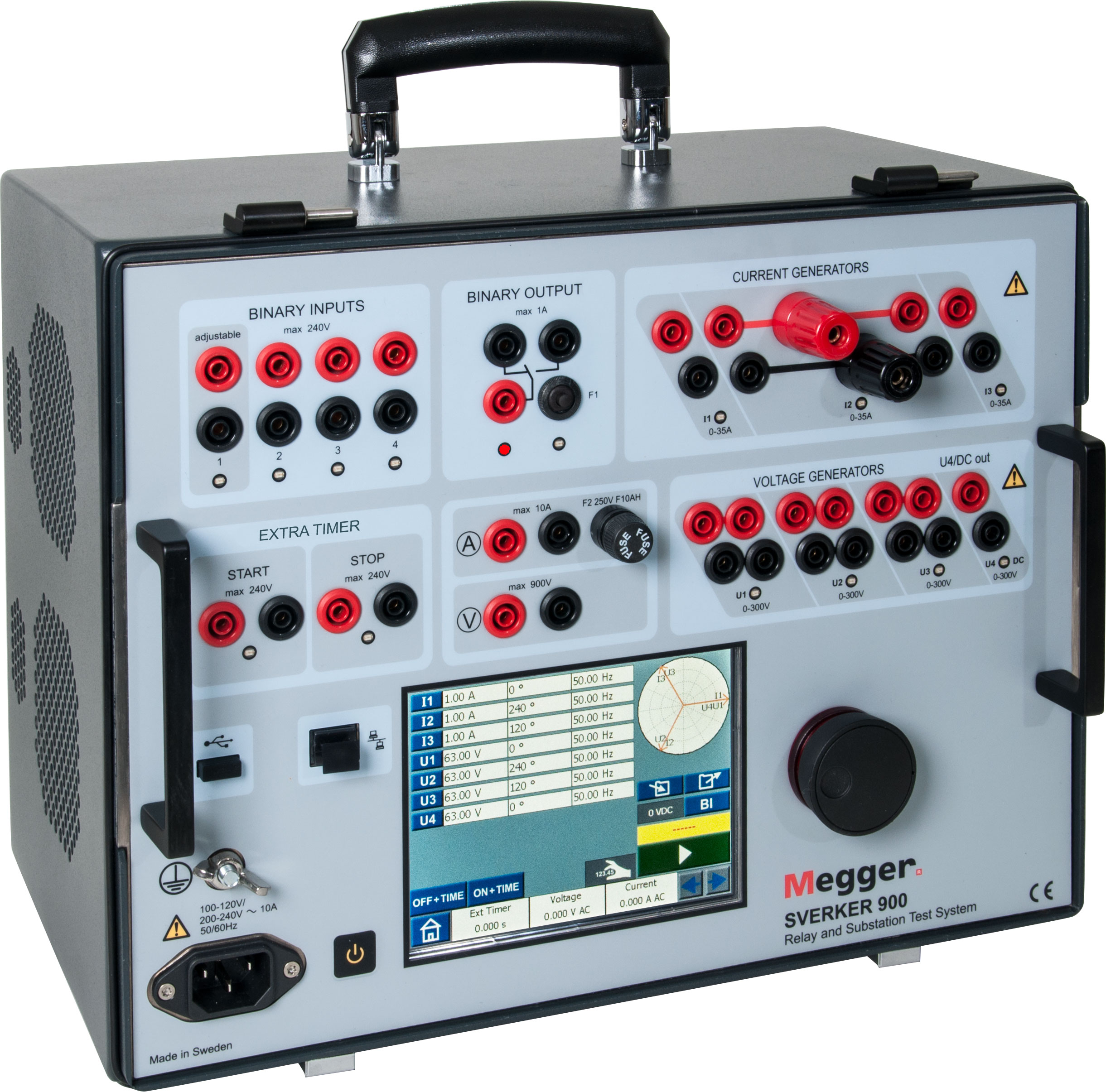 Testing Substations Stevo Electric Types Of Relays Relay And Substation Test System